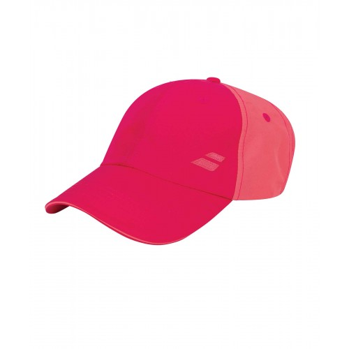 Шапка Babolat Basic Logo Cap Red Rose