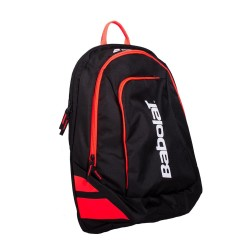 РАНИЦА BACKPACK CLASSIC CLUB BLACK FLUO RED